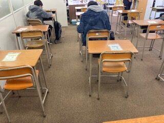 学年末テスト対策学習会~学習のポイントはこれだ☆
