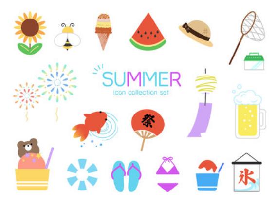 あなたの「夏といえば」は何ですか?いろいろな夏の思い出を作ろう!